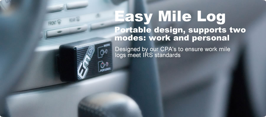 The EasyMileLog GPS Mileage Tracker supports two modes, work and personal. See Details…
